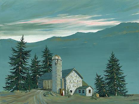Stone Barn by John Wyckoff