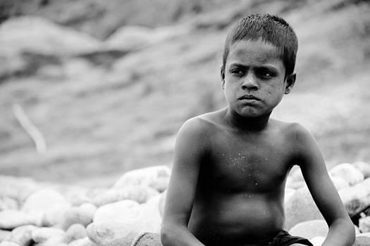 Stone Boy... by Gazi Regan