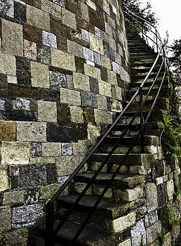 Stone Stairs by Michael Ray