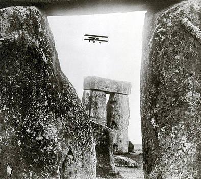 Science Source - Stonehenge 1914