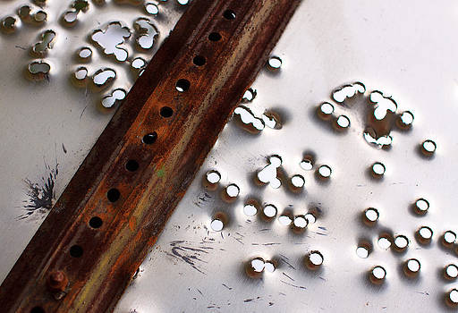 Adam Pender - Stop Sign Bullet Holes
