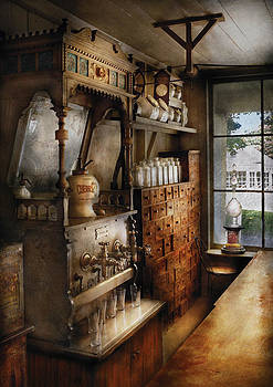 Mike Savad - Store - Turn of the century soda fountain