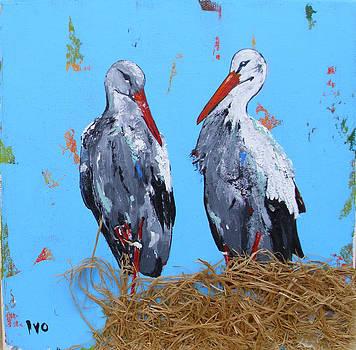 Storks by Ivaylo Georgiev