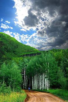 Storm Above Pennock Pass Colorado by Ric Soulen
