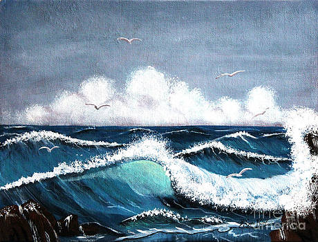Barbara Griffin - Storm at Sea
