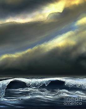 Dale   Ford - Storm at Sea