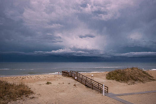 Mary Almond - Storm Clouds on the Outer Banks