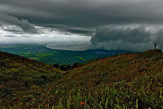 Storm Coming Nicaragua by Jay Campbell