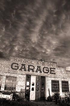 Storm Garage by Chris  Allington