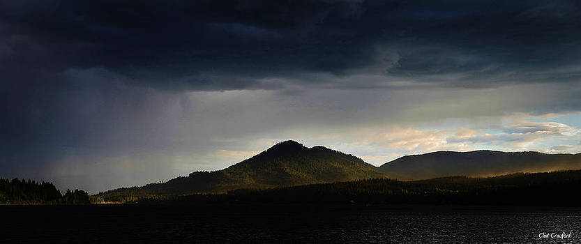 Storm on Karens Mountain by Clint  Crawford
