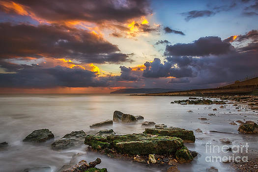 English Landscapes - Storm On The Beach