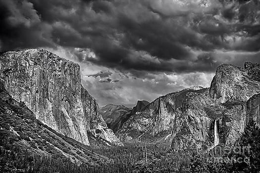 Storm over Yosemite by David Doucot