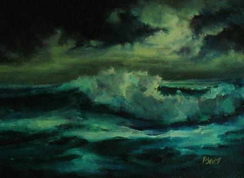 Stormy Sea by Patricia Seitz