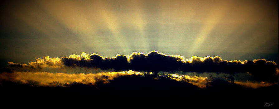 Stormy Sky at Daybreak by Karen Kersey