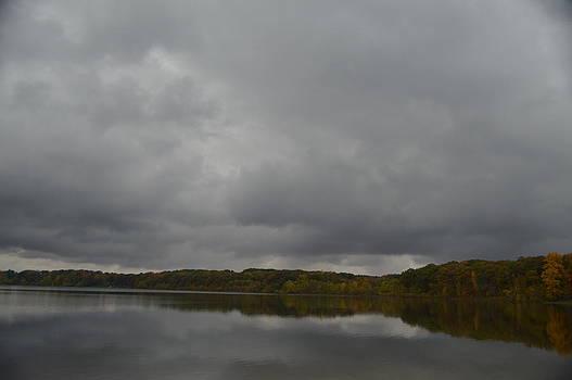 Stormy Sky In Autumn by Cim Paddock