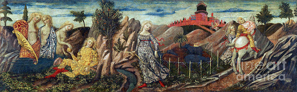 Getty Research Institute - Story Of Oenone And Paris 1460