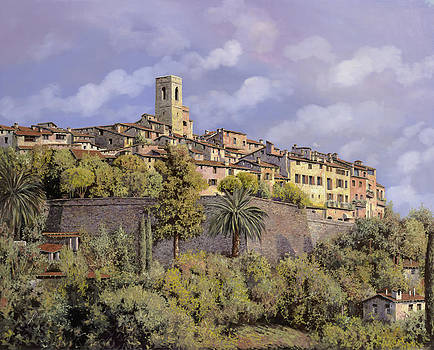 St.Paul de Vence by Guido Borelli