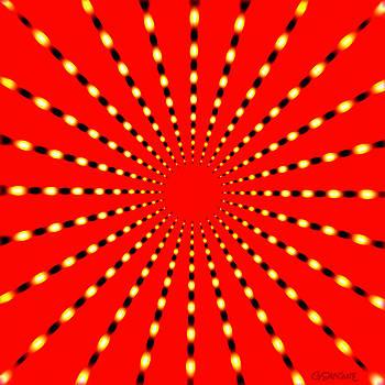Strange Sun Rays by Gianni Sarcone