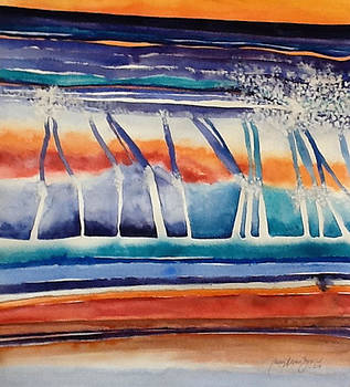 Strata # 18 by Caron Sloan Zuger