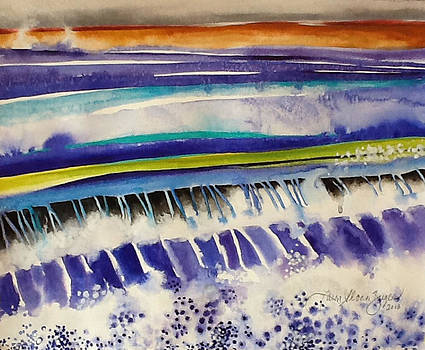 Strata Study # 7 by Caron Sloan Zuger
