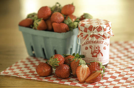 Strawberries and Jam by Mary Carver