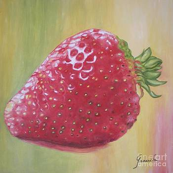 Strawberry by Graciela Castro