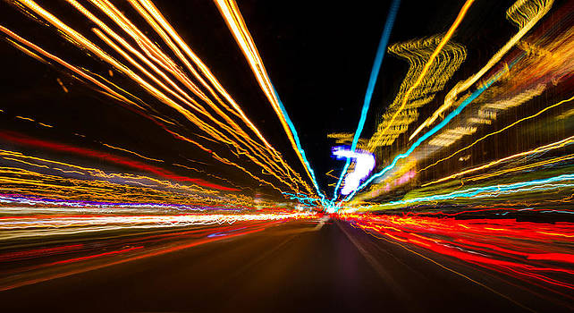 Stream of Lights by Arnold Despi