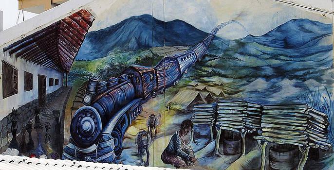 Kurt Van Wagner - Street Art Ecuador Salinas 3