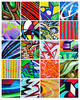 Art Block Collections - Street Art Patchwork