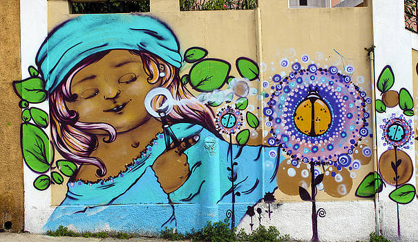 Kurt Van Wagner - Street Art Valparaiso Chile 1