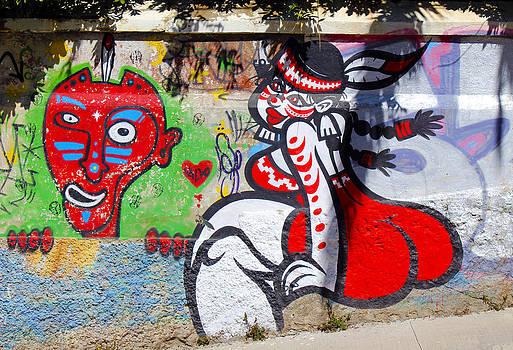 Kurt Van Wagner - Street art Valparaiso Chile 10