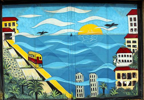 Kurt Van Wagner - Street art Valparaiso Chile 13