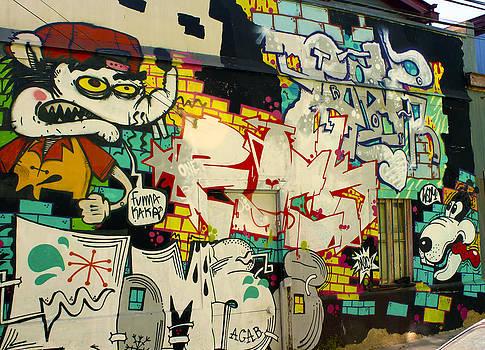 Kurt Van Wagner - Street Art Valparaiso Chile 6