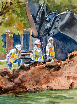 Street Improvements 2 by Ron Stephens