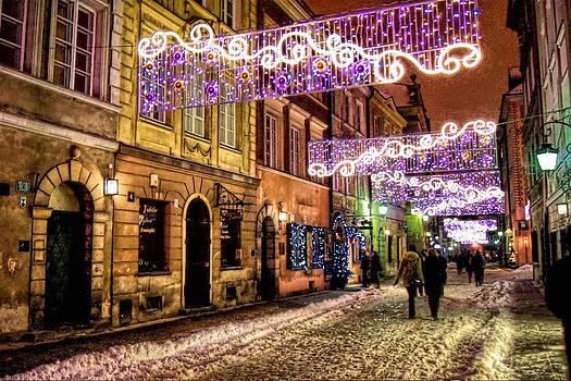 Street of Lights by Nathalie Hope