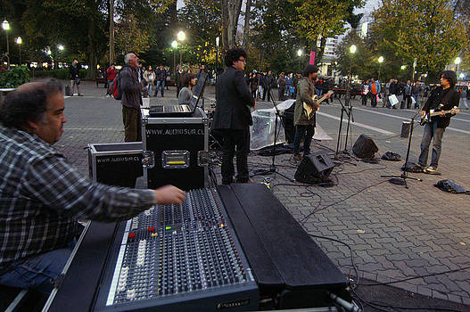 Street Theather Band by Thomas D McManus