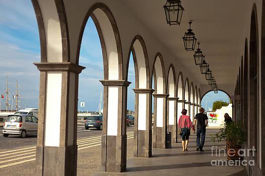 Gaspar Avila - Street with arches