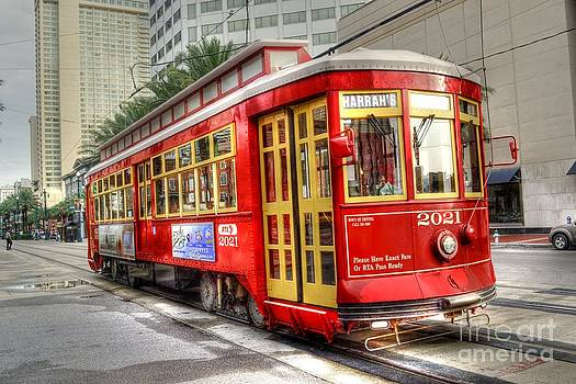 Streetcar in New Orleans by Timothy Lowry