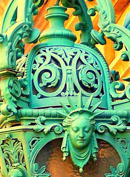 Streetlight in Nice by Betsy Moran