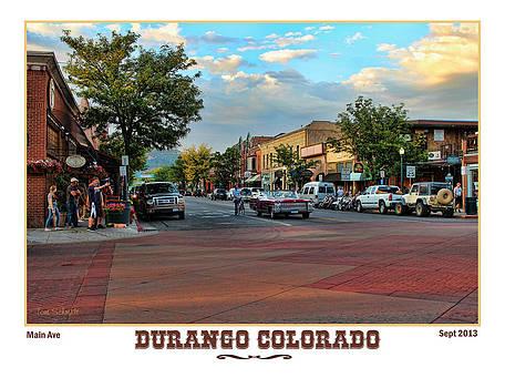 Streets of Durango by Tom Schmidt