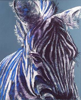 Stripes and Eyelashes by Celene Terry