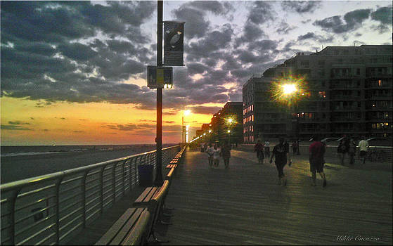 Strolling the Boardwalk by Mikki Cucuzzo