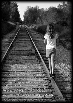 Strolling the rails by Terri K Designs