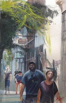 Strolling Through the Oregon District by Gregory DeGroat