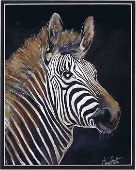 Strutting His Stipes by Jerry Bates