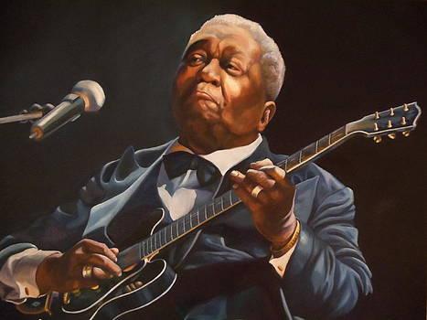 Study in Blues by Debbie Patrick