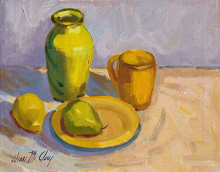 Diane McClary - Study in Yellow