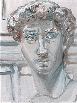 Study of Michaelangelo's David by Jeffrey Oleniacz