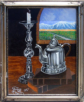 Study of Pewter by Annette Jimerson