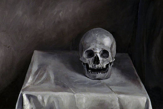 Study of Skull by Julianna Wells